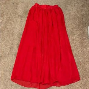 Lace Girl Maxi Skirt NWT